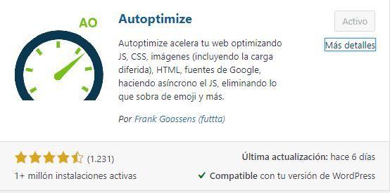 Autoptimize el mejor plugin para mejorar la velocidad de nuestra web